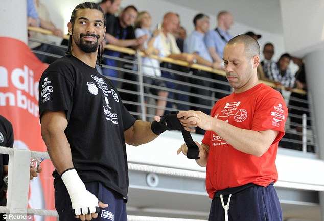ADAM BOOTH VE DAVID HAYE
