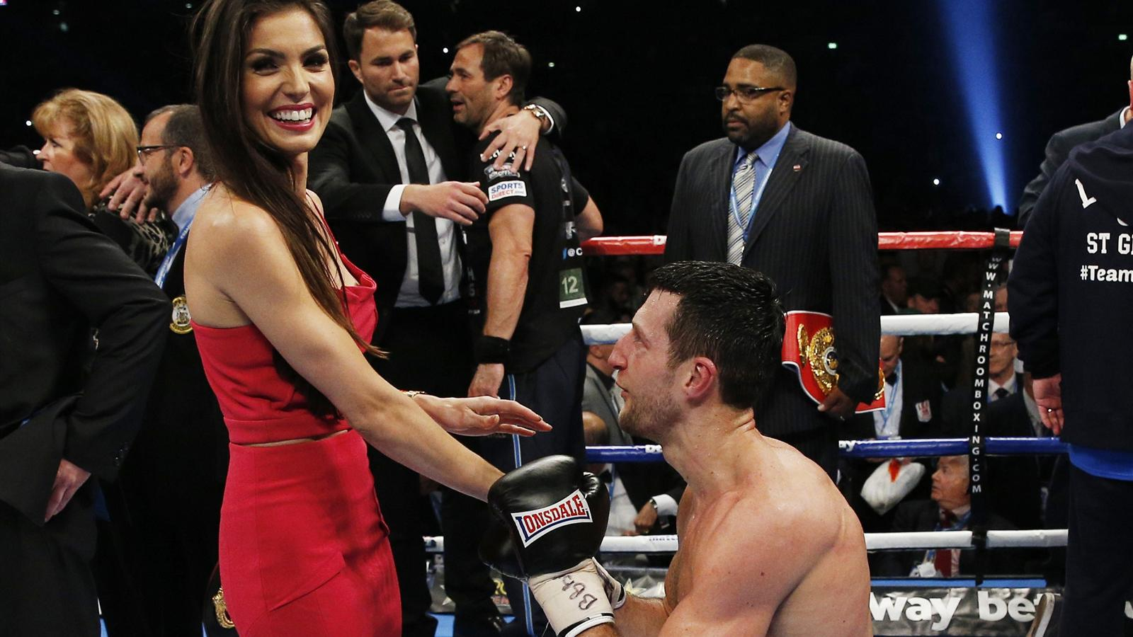 CARL FROCH WEDDING OFFER EVLİLİK TEKLİFİ
