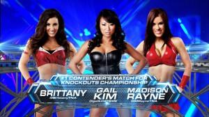 Gail Kim vs. Madison Rayne vs. Brittany