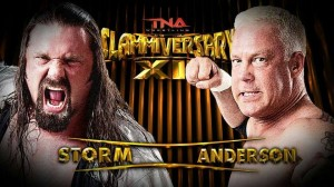 James Storm vs. Mr.Anderson
