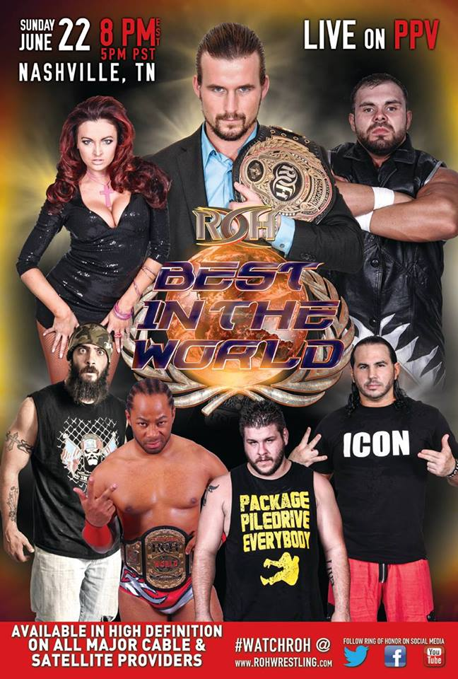 ROH PPV POSTER
