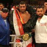 Sinan Samil Sam WBC'nin 2 Numaralı Kemeriyle