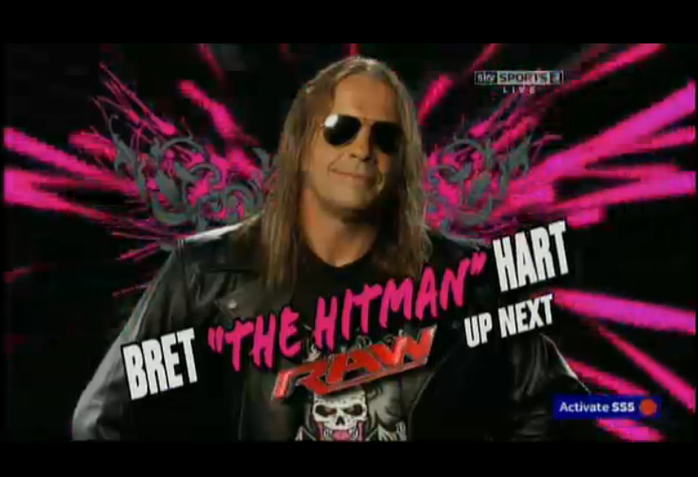 Bret Hart Return