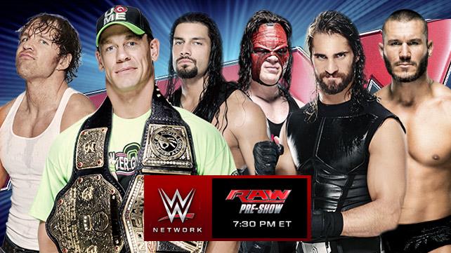 14 July 2014 Raw