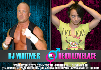 BJ Whitmer vs. Heidi Lovelace