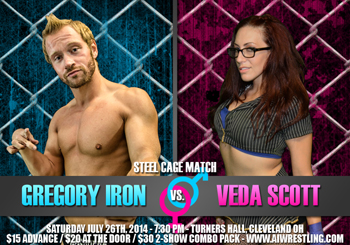 Gregory Iron vs Veda Scott