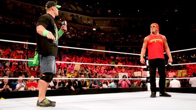 Hulk Hogan John Cena