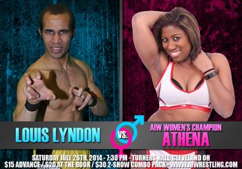 Louis Lyndon vs. Athena