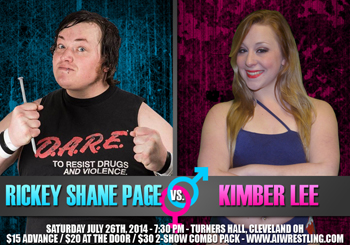 Rickey Shane Page vs. Kimber Lee