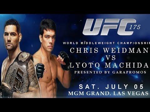UFC 175-kapak