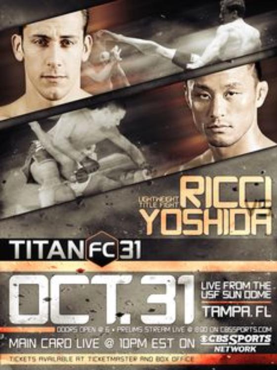 Titan Fighting Championship : 31  Poster