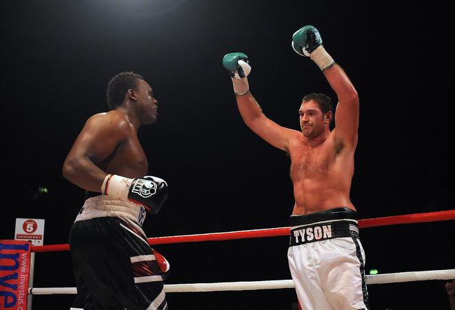 Dereck Chisora v Tyson Fury - British & Commonwealth Heavyweight Title Fight