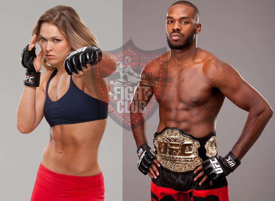 Ronda Rousey & Jon Jones