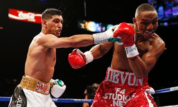 Amir Khan v Devon Alexander WBC Silver Welterweight Title