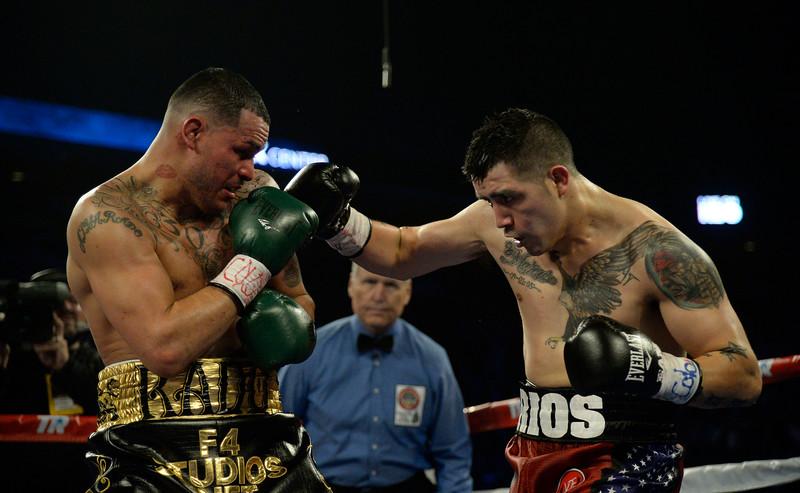"""Mike Alvarado and Brandon Rios Title Fight"""