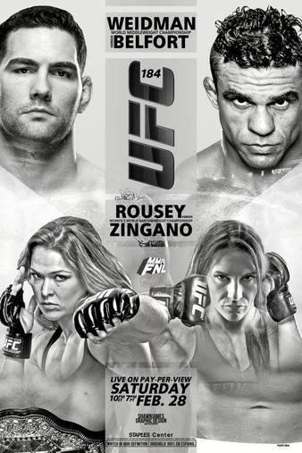 UFC_184_Weidman_vs._Belfort_Poster