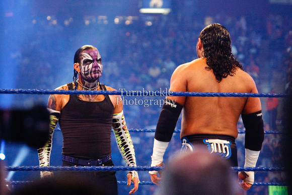 WWE Wrestlemania 25 Jeff Hardy vs Matt hardy   YouTube