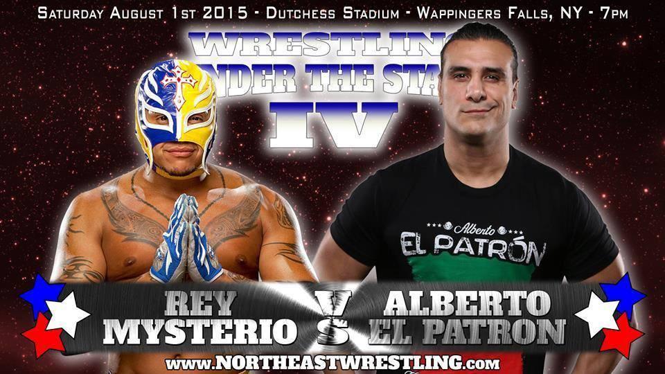 Rey Mysterio vs Alberto el patron