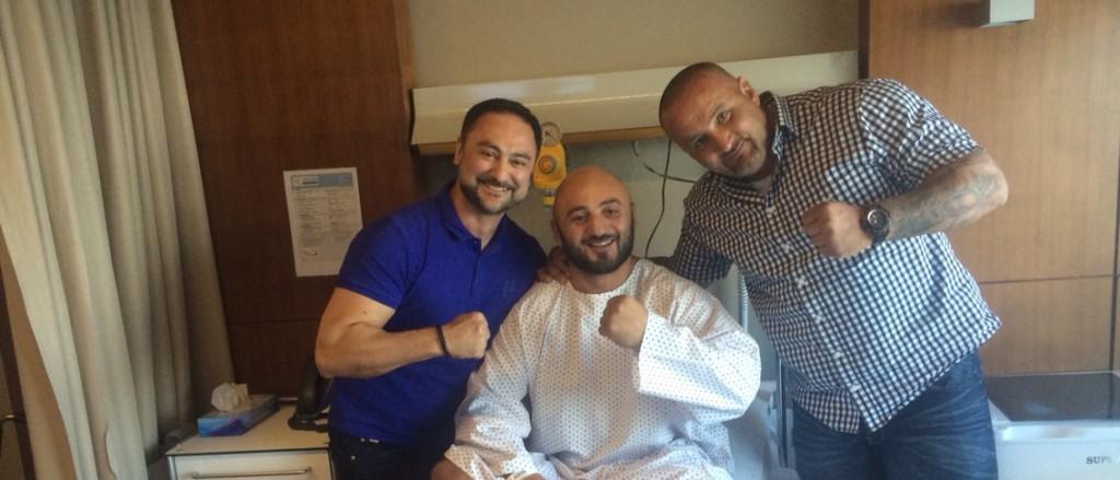Fatih Ulusoy Hastanede Yakınlarıyla