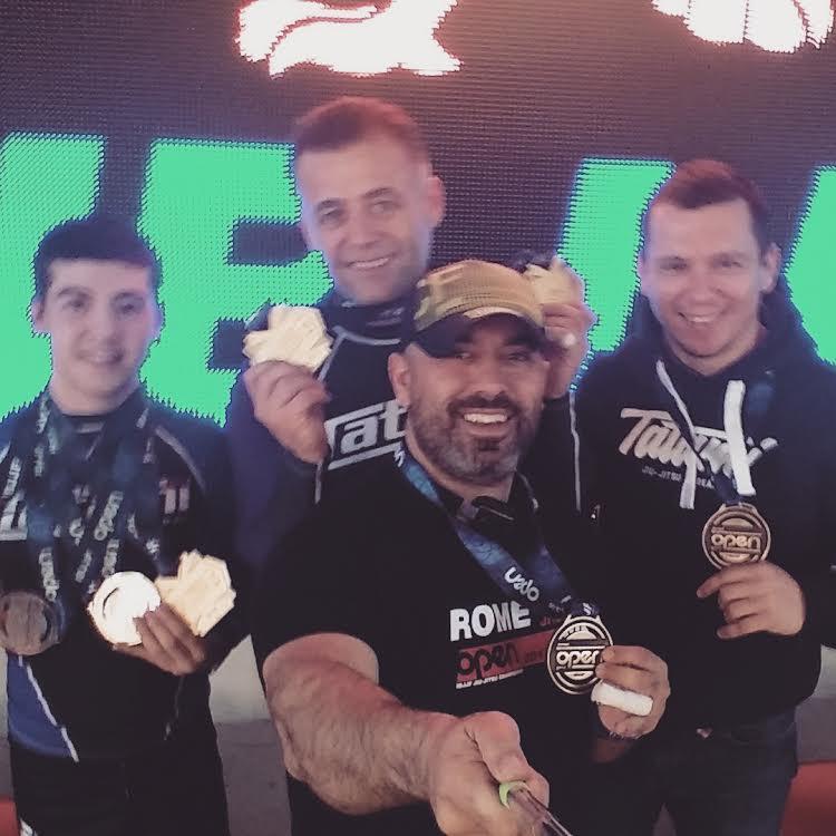 Bursalı Sporcular Roma'dan 4 Madalya Getirdi