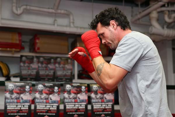 Boxing: Daniel Geale Workout