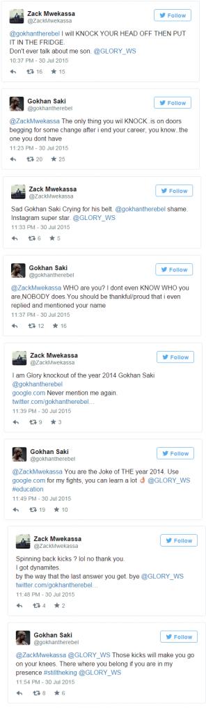Gökhan Saki vs. Zack Mwekassa
