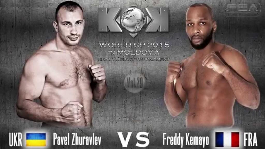 Pavel Zhuravlev vs  Freddy Kemayo