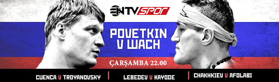 4 Kasım 2015 Görsel Poster Povetkin vs Wach