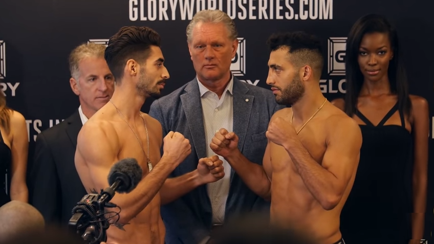 Glory 25 weigh in