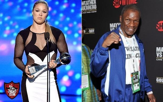 Mayweather Sr vs. Rousey