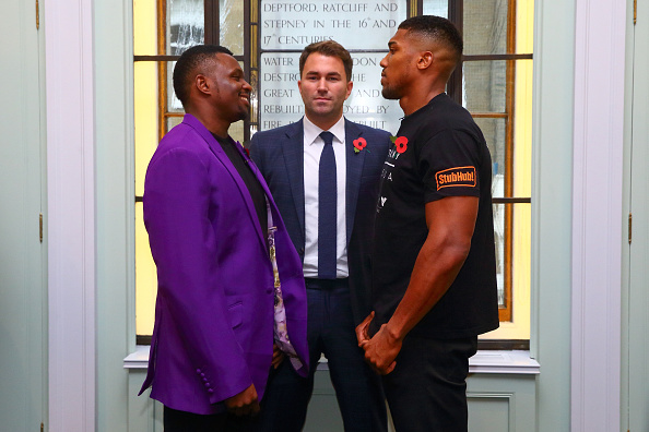 Anthony Joshua and Dillian Whyte Press Conference
