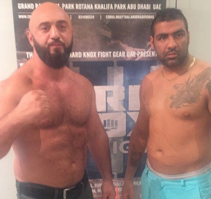 Hard Knox fight Event Fatih Ulusoy vs Ali Hoseyn Mardi