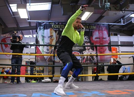 Billy Joe Saunders Media Work-Out