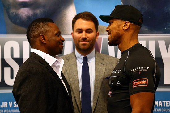 Anthony Joshua & Dillian Whyte Head-to-Head Press Conference