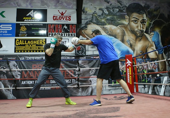 Liam Smith Media Work-Out