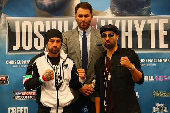 Gianluca Branco ve Paul Malignaggi