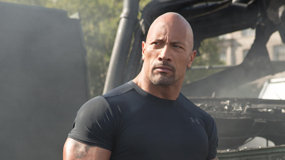 "Hobbs (DWAYNE JOHNSON) in ""Fast & Furious 6"", the next installment of the global blockbuster franchise built on speed."