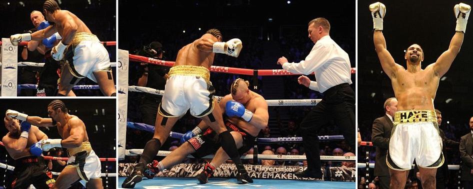 David Haye vs Mark De Mori KO