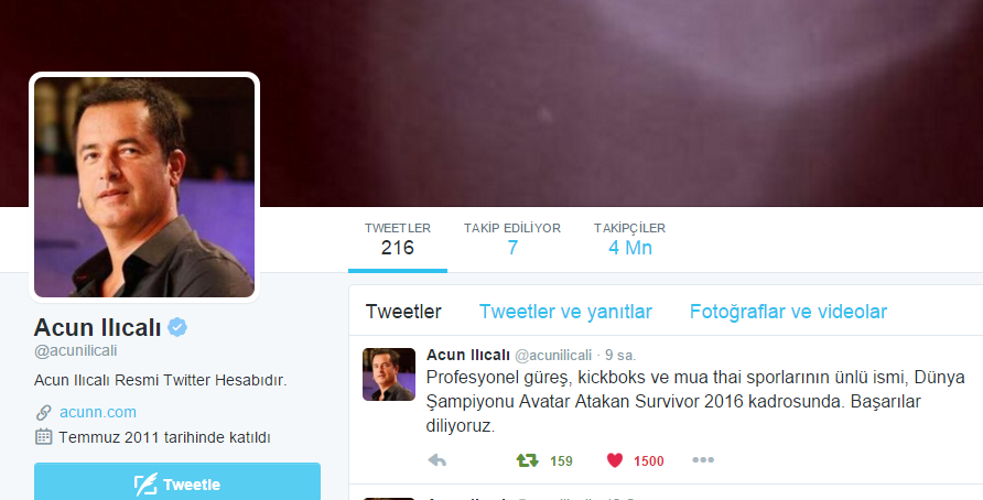 acun twitter avatar atakan