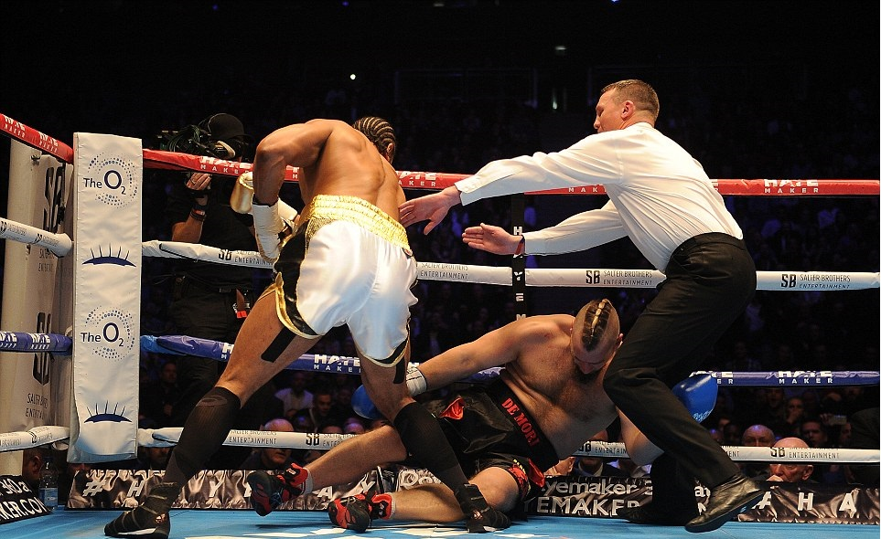 david haye vs mark de mori knockout