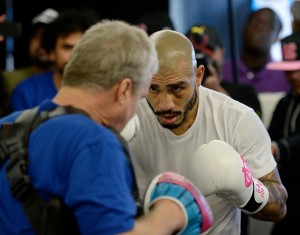 Miguel Cotto Media Workout