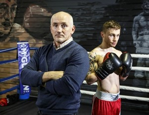 Barry McGuigan and Carl Frampton before Saturday's big fight