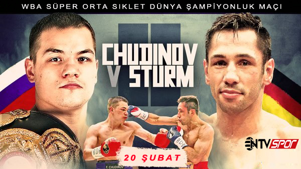 Felix Sturm vs Fedor Chudinov Posteri