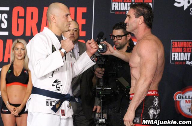 Royce Gracie vs. Ken Shamrock