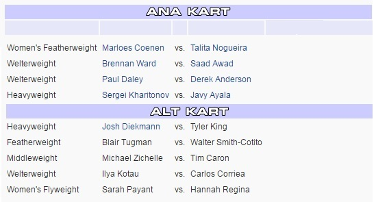 bellator-163-match-card