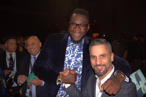 Deontay Wilder ve Bilgehan Demir Miami'deki WBC kongresinde böyle bir araya geldi