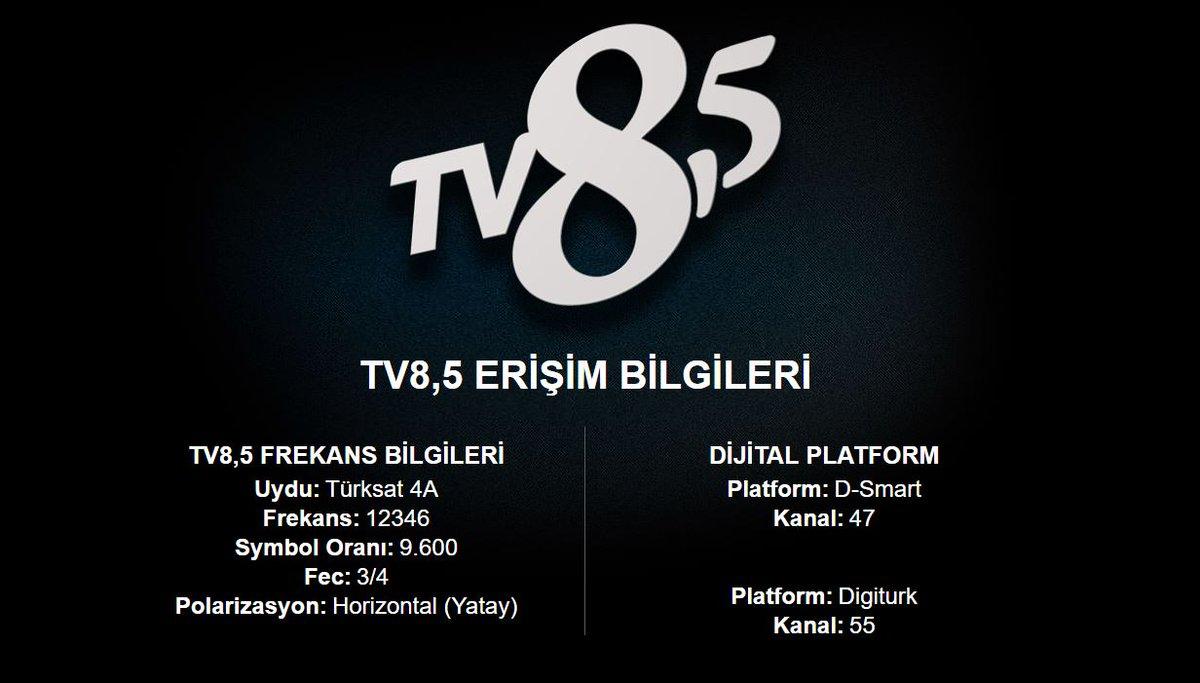TV8,5 Frekans