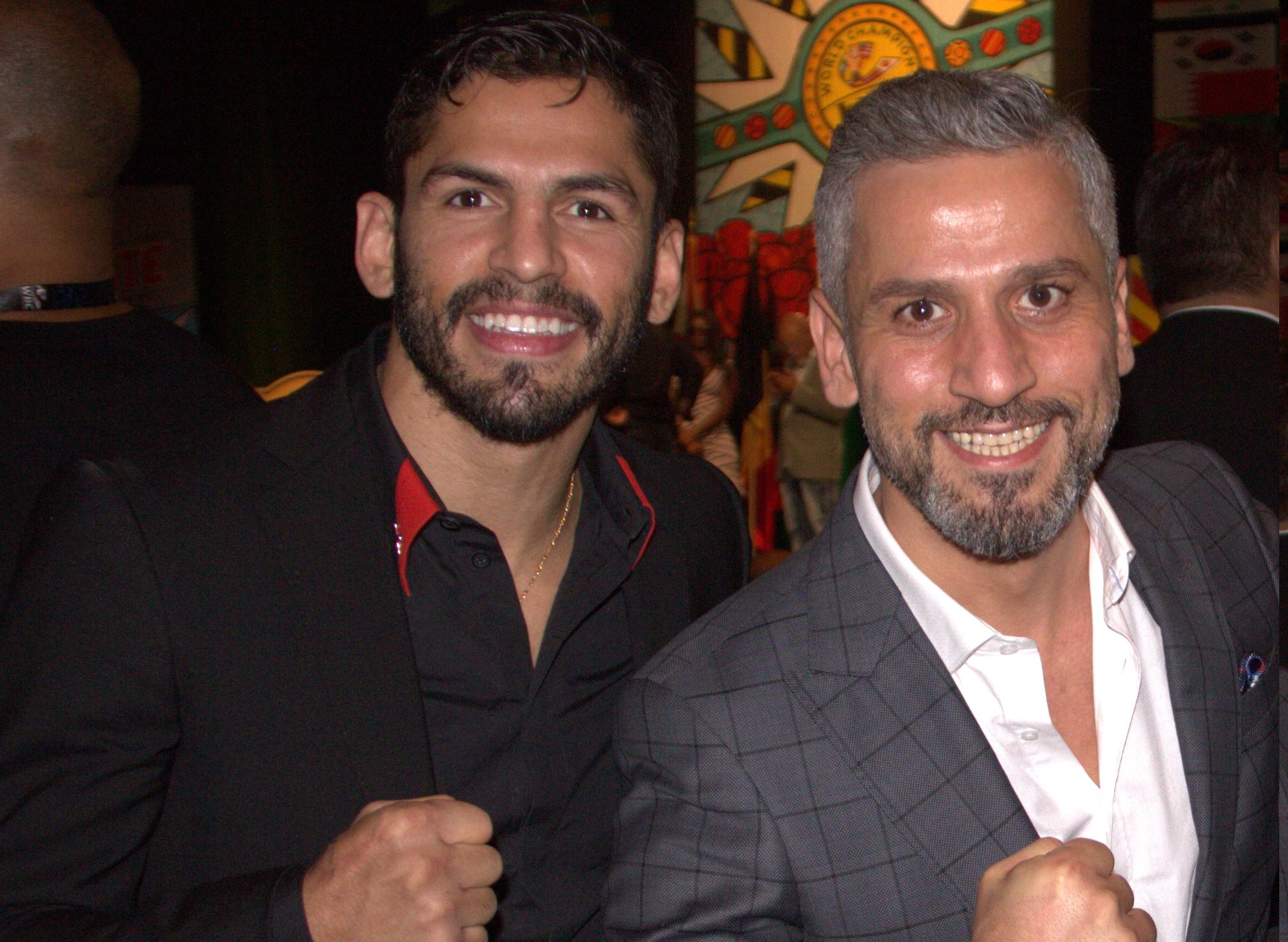 Jorge Linares ve Bilgehan Demir 2016'da Miami'deki WBC Kongrasinde Bir Araya Gelmişti