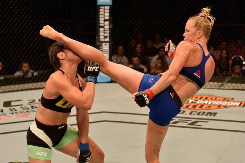 HOLLY HOLM vs BETHE CORREIA Knockout KO