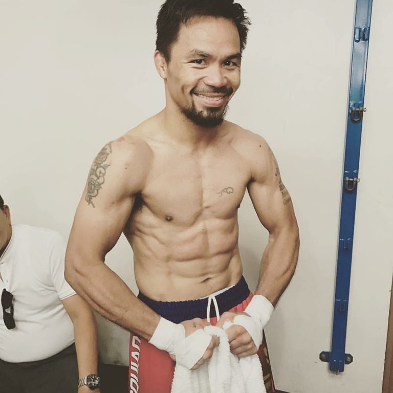 Manny Pacquiao Jeff Horn maçına hazır